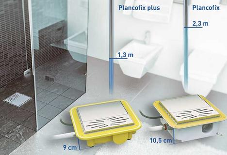PLANCOFIX PLUS - Slim and with quiet operation